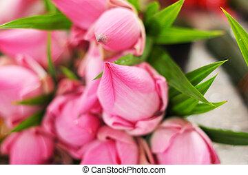 Lotus flower in the market
