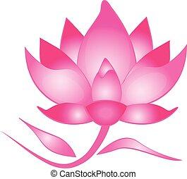 Lotus flower logo