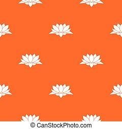Lotus flower pattern seamless