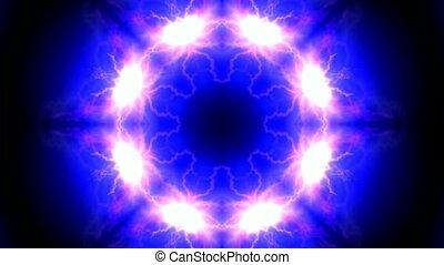 lotus flower pattern,lightning