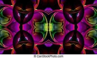 lotus, kristal, textuur, glas