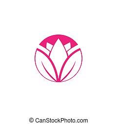 Lotus logo template