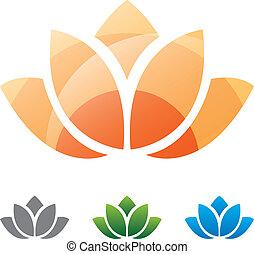 Lotus silhouette icon