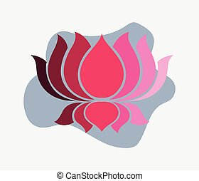 Lotus Vector Shape