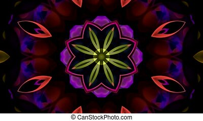 lotus, verre cristal, texture
