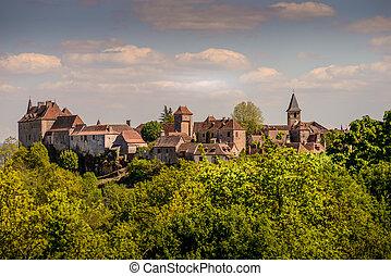 Loubressac most pictorial villages of france lot region