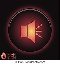 loudspeaker, Volume icon . sound icon - loudspeaker sign....