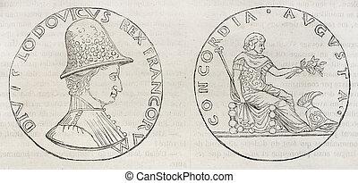 Louis XI medal