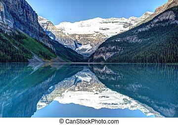louise, 国立公園, 湖, banff