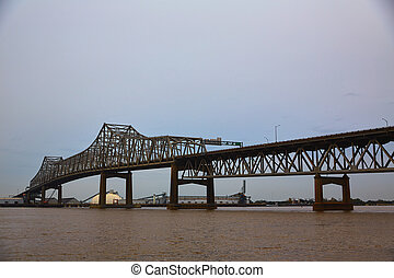 Louisiana Horace Wilkinson Bridge Mississippi river
