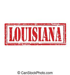 Louisiana-stamp