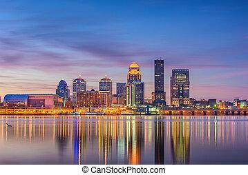 Louisville, Kentucky, USA Skyline - Louisville, Kentucky, ...