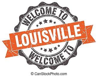 Louisville round ribbon seal