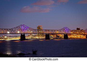 Louisville Skyline - Dr. Martin Luther King Jr. Expressway, ...