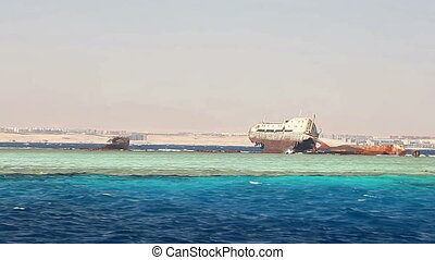 Loullia Wreck on Gordon Reef, Red Sea, Egypt.