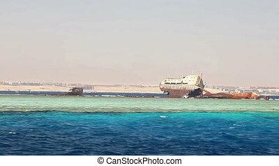 Loullia Wreck on Gordon Reef, Red Sea, Egypt.