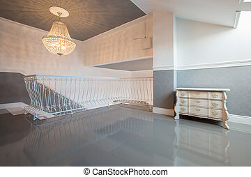 lounge, apartamento, luxo, espaçoso