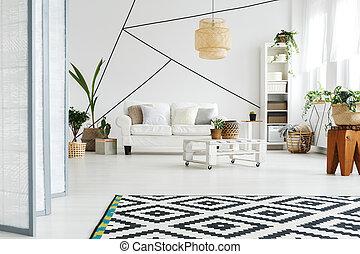 lounge, espaço aberto
