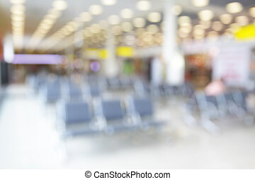 Lounge in airport