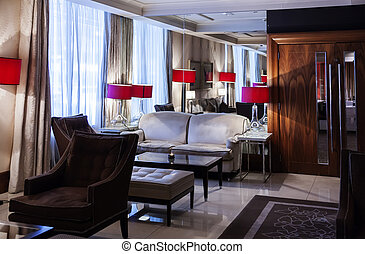 lounge in hotel