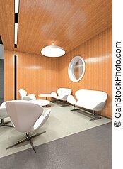 lounge,  Interior, escritório,  Área