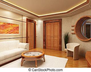 Lounge room interior