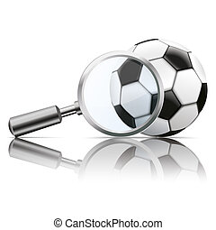 Loupe Mirror Football