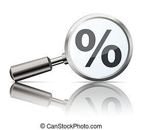 Loupe Mirror Percent