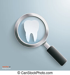 Loupe White Tooth