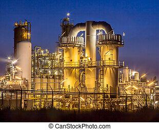 lourd, chimique, industriel, détail