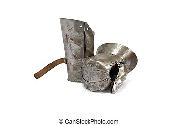 lovag, középkori, kesztyű