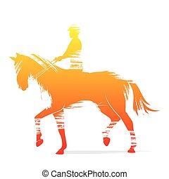 lovaglási, játékos, tervezés