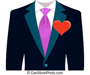 love a man in a wedding suit