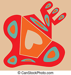 Love Abstract Shape