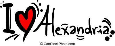 Love Alexandria