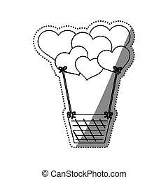 Love and romanticism icon vector illustration graphic design
