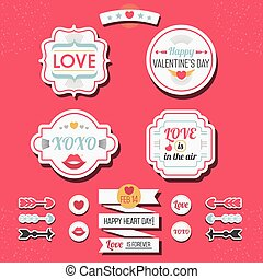 Love and Valentine's Day labels set