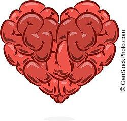 Love and wisdom symbol