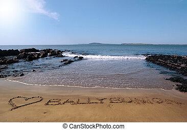 love ballybunion in the sand