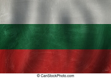 Love Bulgary concept with Bulgarian flag background