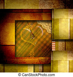love card background with heart