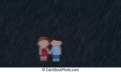 Love card design, Video animation