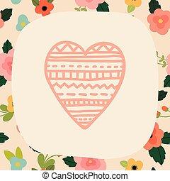 Love card template. - Love card teemplate. Vector EPS 10...