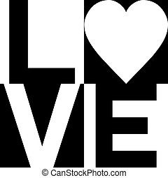 Love Checked in Black and White