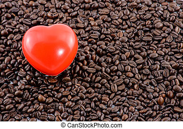 Love coffee concept