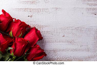 Love composition. Studio shot. - Valentines day composition....