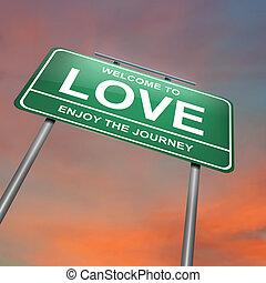 Love concept.