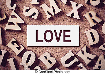Love Concept Word