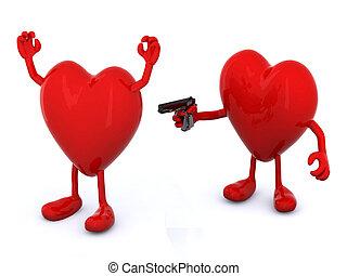 love conflict concept