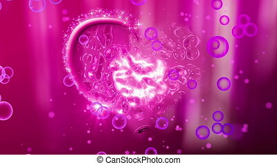 """""""love, corações, animação, com, diamantes, inside"""""""
